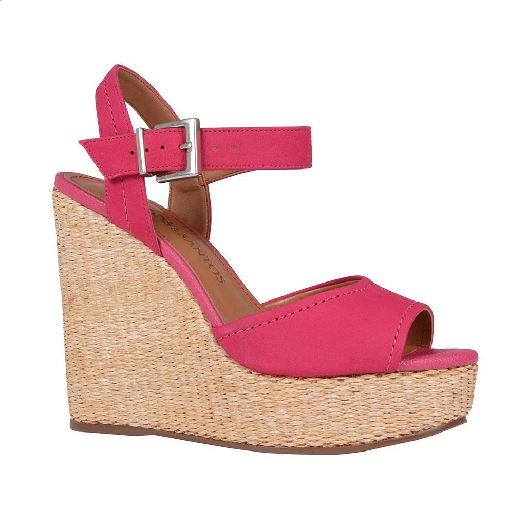 Sandália plataforma pink V19