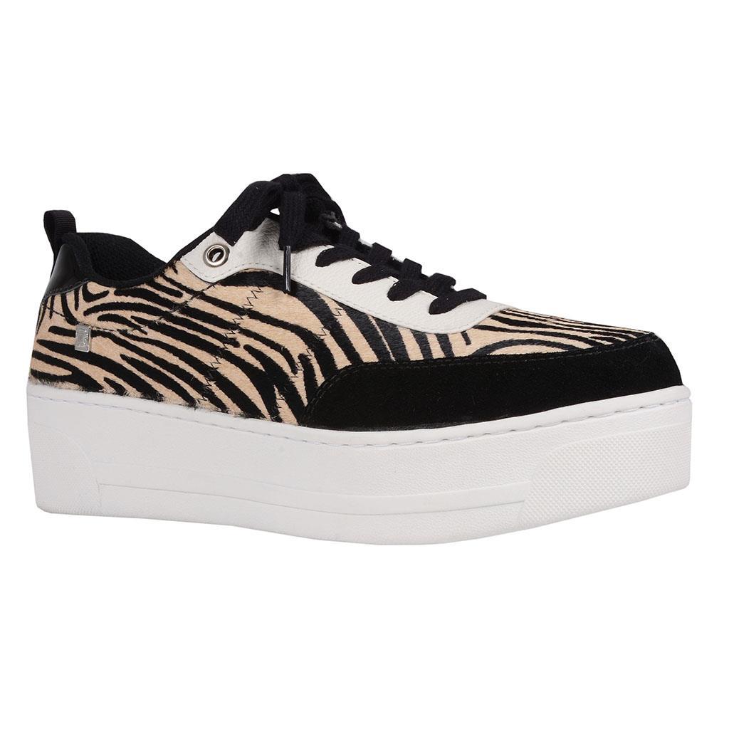Tênis casual pelo zebra I19