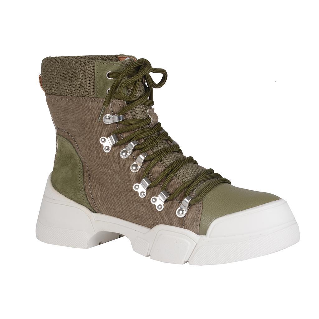 Hiking boot verde militar I19