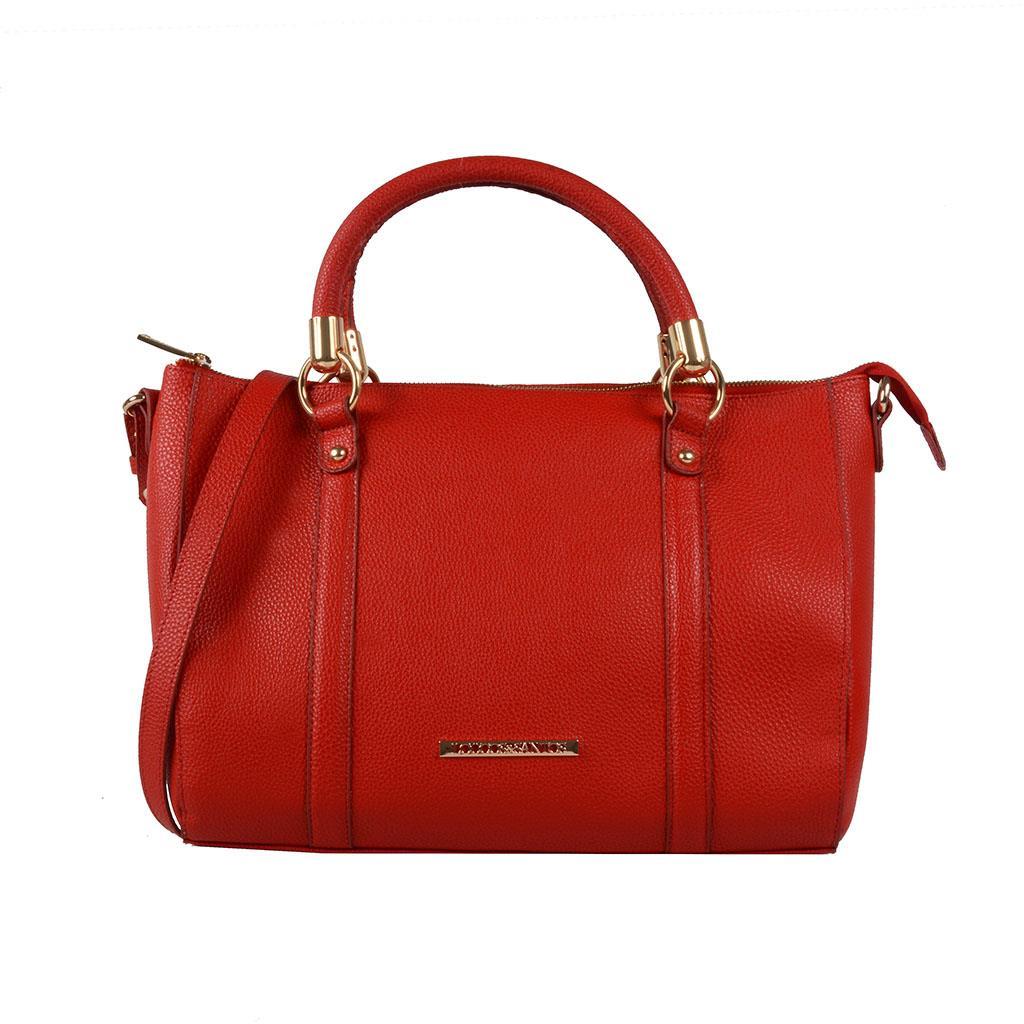 Bolsa estruturada vermelho