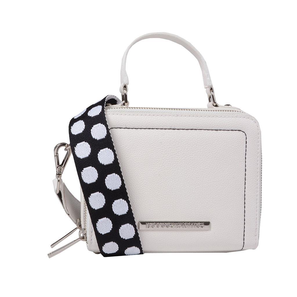 Bolsa box tiracolo branca I19