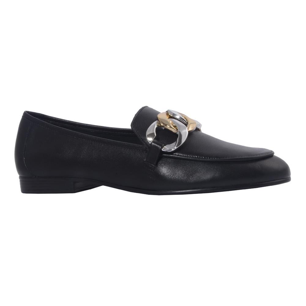 Loafer Couro Preto V21