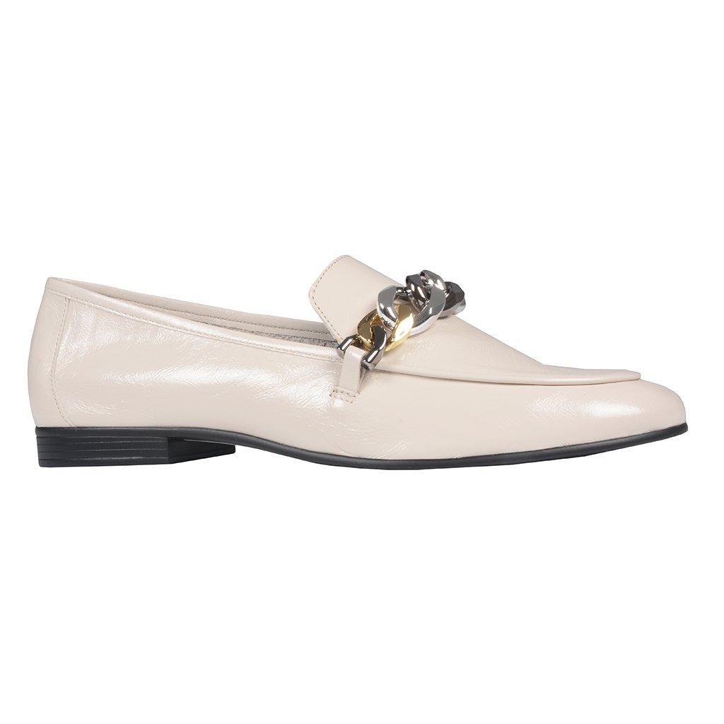 Loafer Off White com Corrente I21