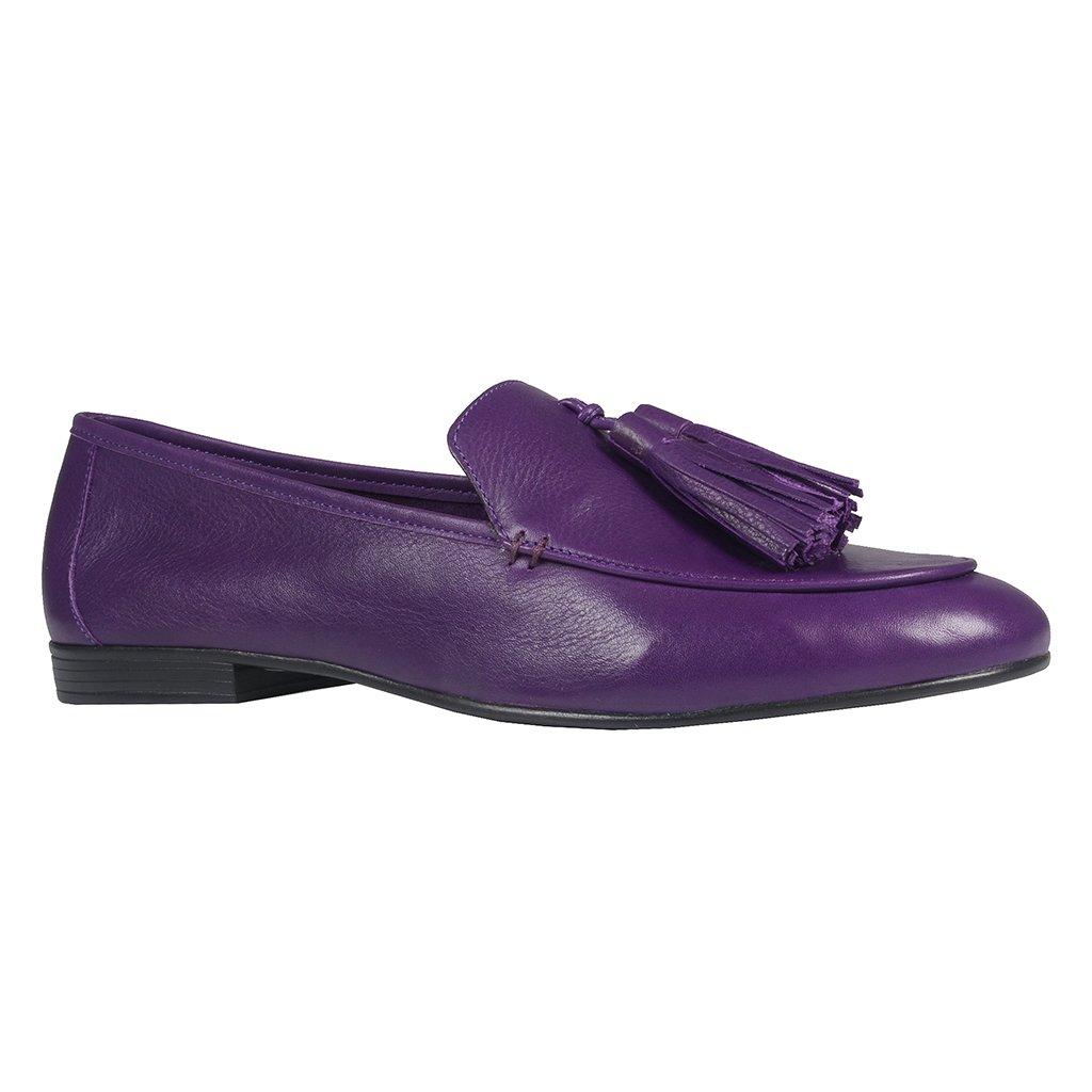 Loafer Couro Roxo V21