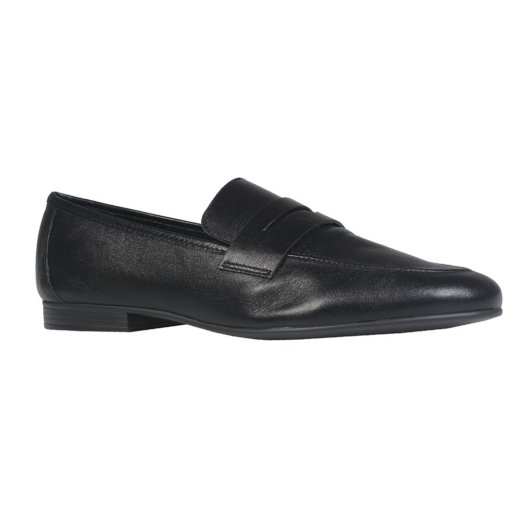 Loafer Couro Preto I21