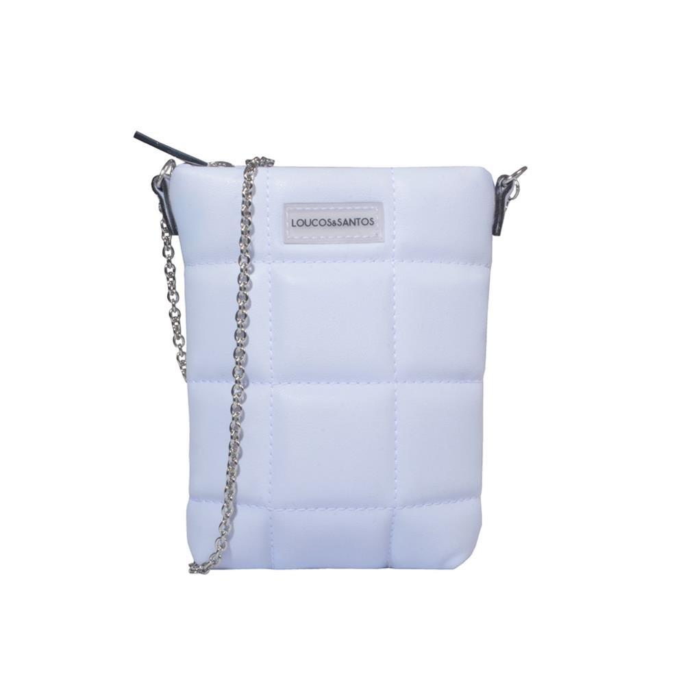 Porta-Celular Matelassê Light Blue V21
