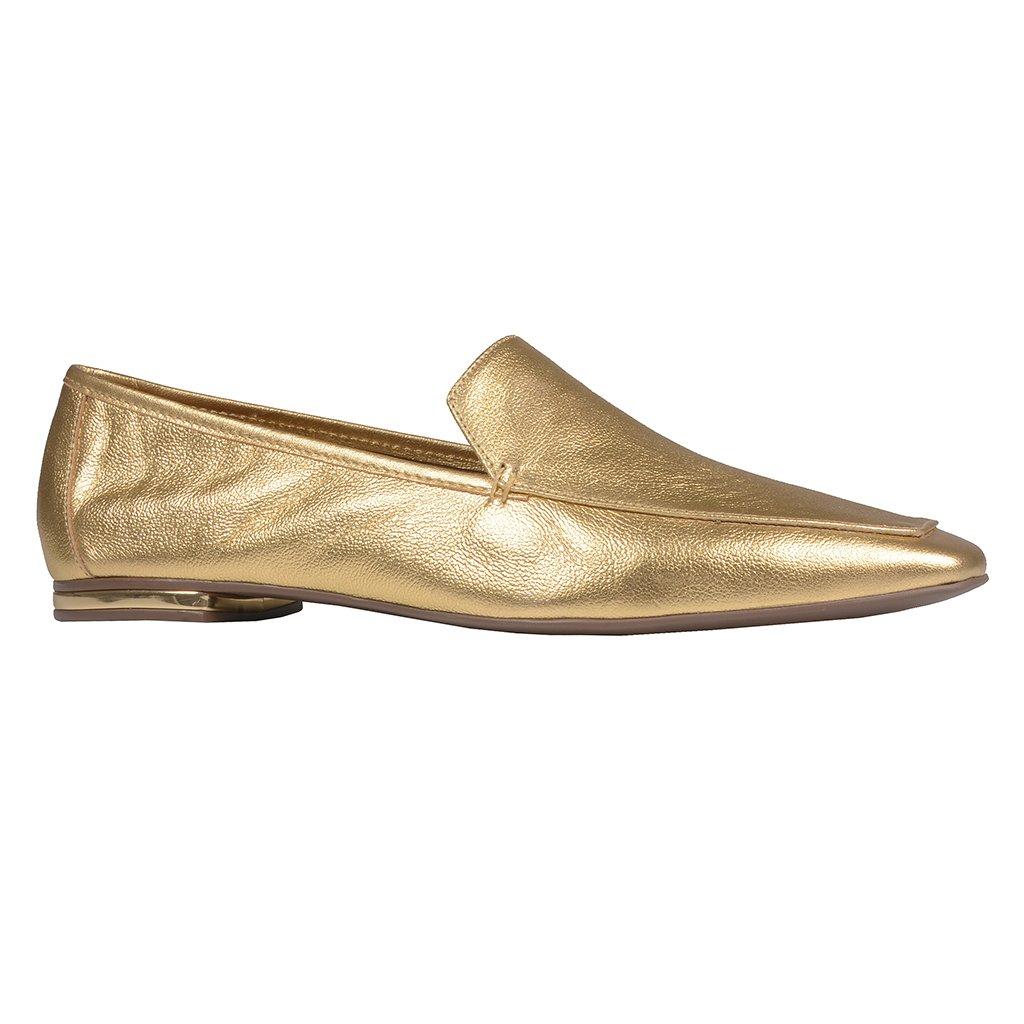 Loafer Couro Dourado V21