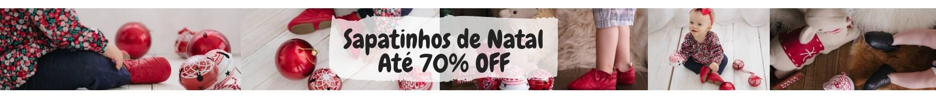 Sapatinhos de NatalAté 70% OFF m,in