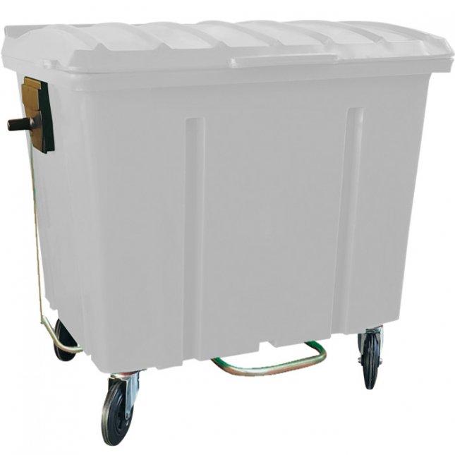 Container de Lixo 1000 Litros Com Pedal