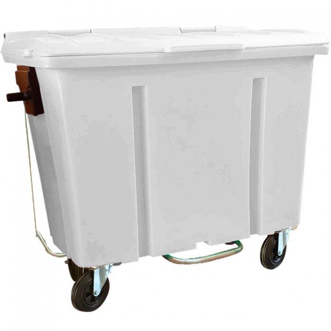 Container de Lixo 700 Litros Com Pedal