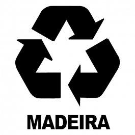 Imagem - Adesivo Coleta Seletiva Madeira cód: 6.0010.00.0