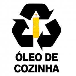 Imagem - Adesivo Coleta Seletiva Óleo de Cozinha cód: 6.0011.00.0