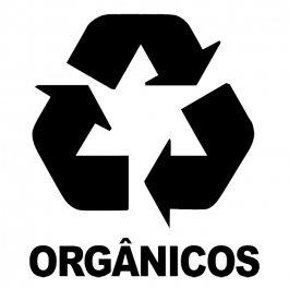 Imagem - Adesivo Coleta Seletiva Orgânicos cód: 6.0001.00.0