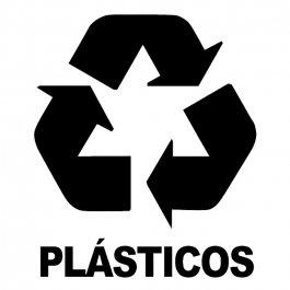 Imagem - Adesivo Coleta Seletiva Plásticos cód: 6.0005.00.0
