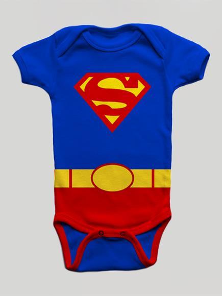 Body Infantil Super Baby