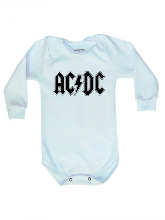 Body Manga Longa AC/DC