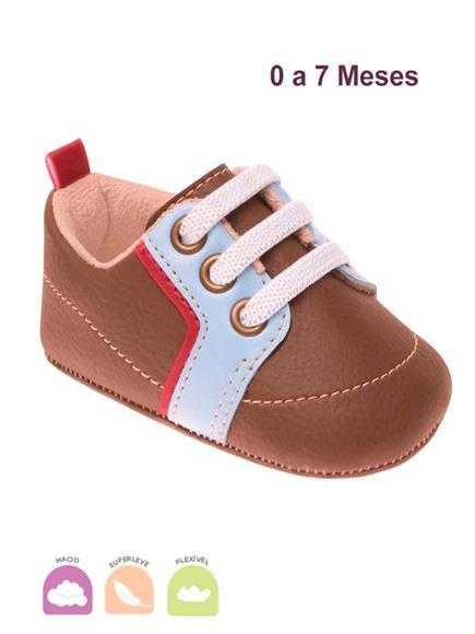 Sapato Infantil Afago Marrom