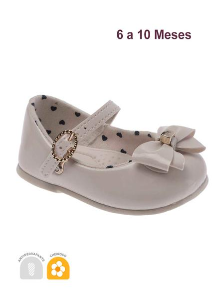 Sapato Pimpolho Charme Off White