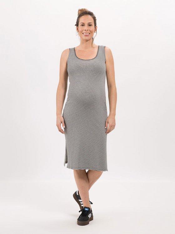 Vestido Midi Stripe Mescla