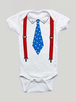 Body Infantil Suspensório