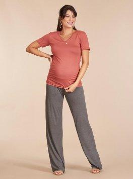 Calça de Gestante Pantalona