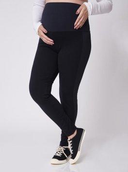 Calça Legging Gestante Suplex com detalhe lateral