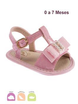 Sandalia Infantil Baby Fashion Rosa