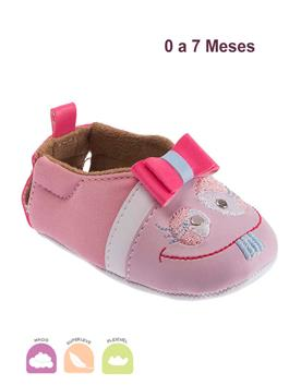 Sapato Bebe Xodó Rosa
