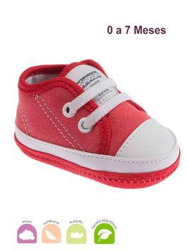 Tenis Infantil Eco Star Vermelho