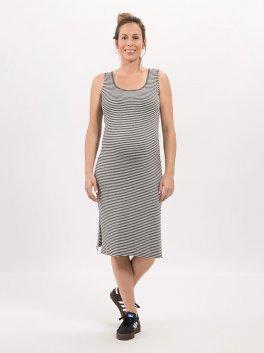 Imagem - Vestido Midi Stripe Mescla