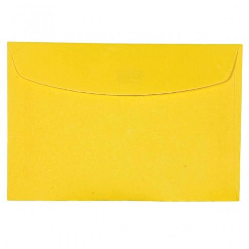 Envelope Visita TB72 Amarelo 72x108mm - Caixa com 100 Unidades