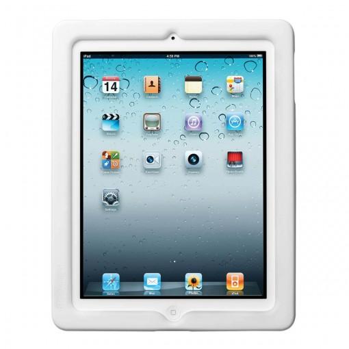 BlackBelt Proteção Lateral para iPad 4, 3 e 2 Branca
