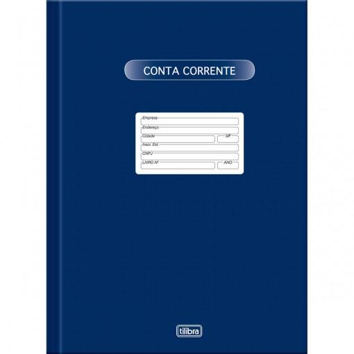 Livro de Conta Corrente Pequeno Capa Dura 50fls