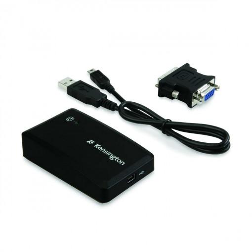 Adaptador USB 2.0 para VGA DVI - Kensington