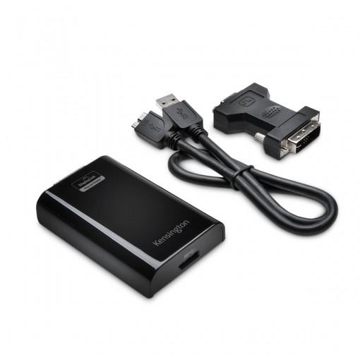 Adaptador USB 3.0 para VGA DVI