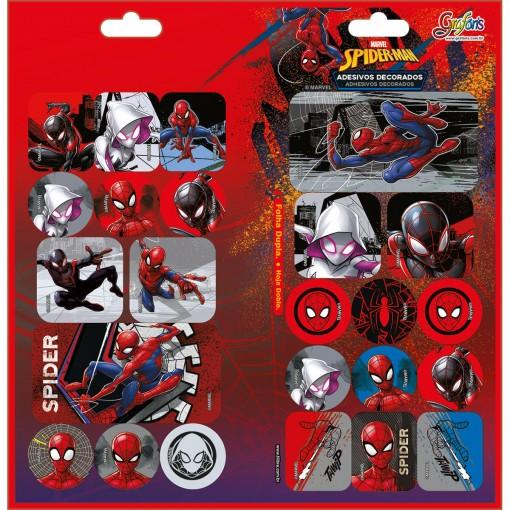 Adesivo Decorado Duplo Spider-Man