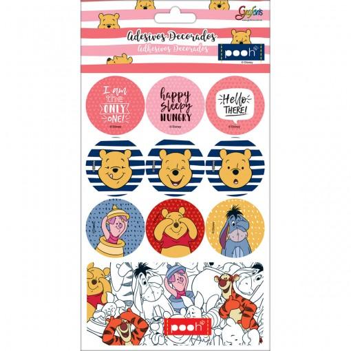 Adesivos Decorados Pooh (295868)