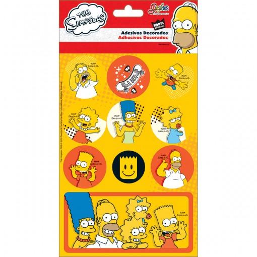 Adesivos Decorados Simpsons
