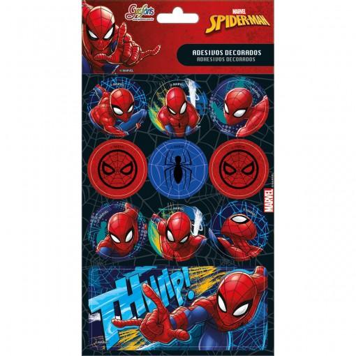 Adesivos Decorados Spider-Man