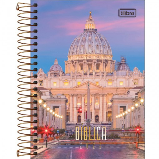 Agenda Espiral Diária Bíblica 2021 - Sortido