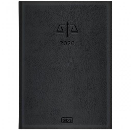 Agenda Executiva Costurada Diária de Mesa Advogado 2020