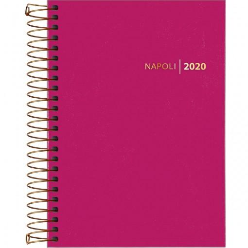 Agenda Executiva Espiral Diária Napoli Feminina 2020