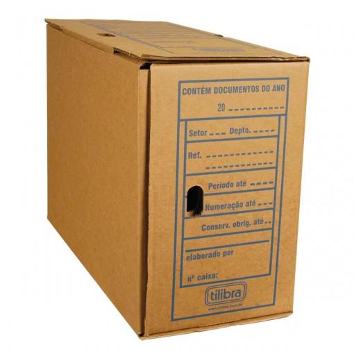 Arquivo Morto Papelão Jumbo 405x180x292mm (Pacote com 25 unidades)