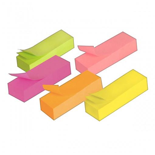 Bloco Adesivo Tili Notes 50x15mm 500 folhas 5 Cores