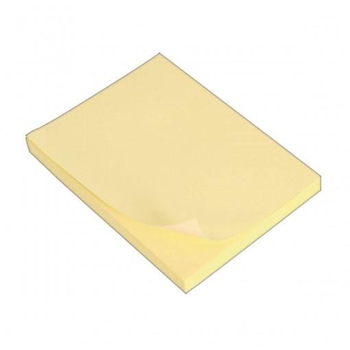 Bloco Adesivo Tili Notes 76x101mm 100 folhas Amarelo