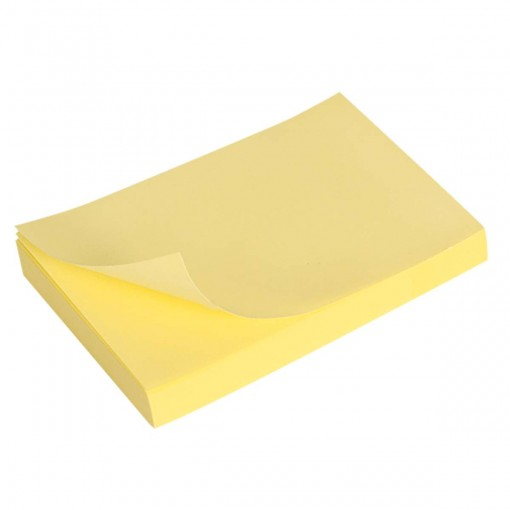 Bloco Adesivo Tili Notes 76x51mm 100 folhas Amarelo