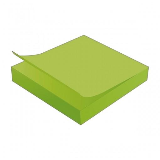 Bloco Adesivo Tili Notes 76x76mm 100 folhas Verde Neon