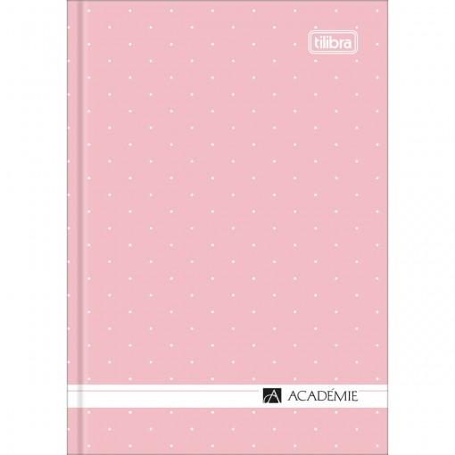 Caderneta CD Costurada Académie 80 Folhas (Pacote com 5 unidades) - Sortido