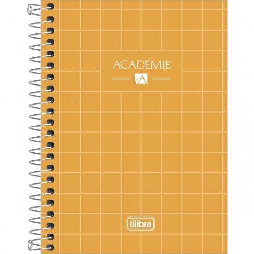 Caderneta Espiral Capa Dura 1/8 Académie 80 Folhas (Pacote com 4 unidades) - Sortido