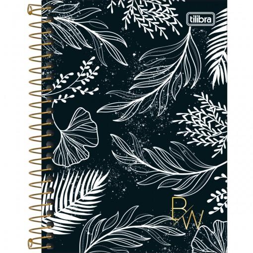 Caderneta Espiral Capa Dura 1/8 B&W 80 Folhas (Pacote com 4 unidades) - Sortido